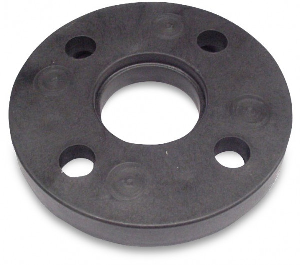 PP backing ring with steel insert