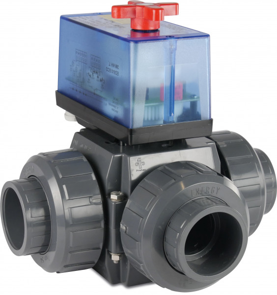 3-way actuated T-bore ball valve, type S5