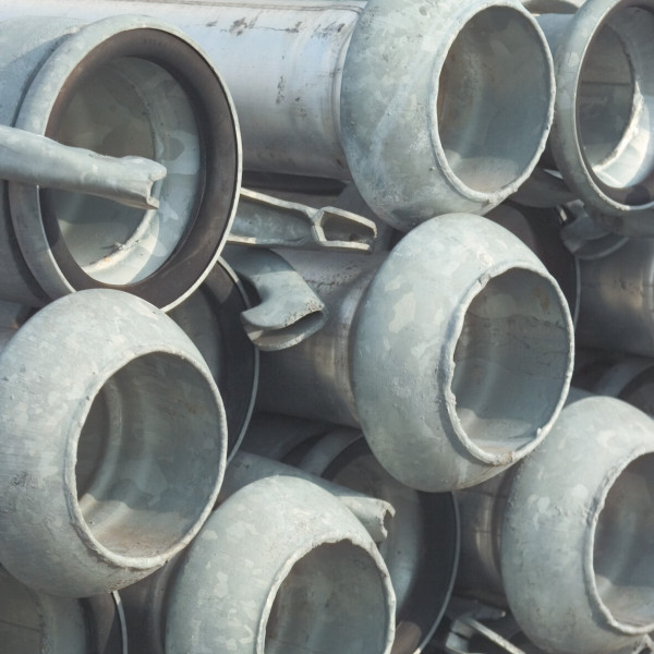 Quick coupler pipe, type Perrot