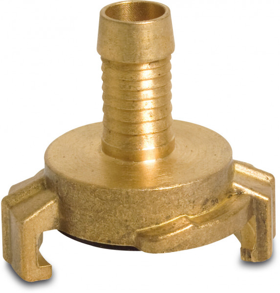 Quick coupler with hose tail